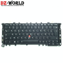 Keyboard Yoga French Backlight Teclado Thinkpad Lenovo New for S1 12-france/Backlight/Teclado/..