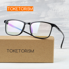 Toketorism rectangle optical glasses frame man nerd fashion spectacle frames women 6242