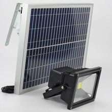 20 Вт Солнечный свет на солнечных батареях прожектор газон пейзаж Освещение Время работы 12 часов Открытый водосветодио дный непроница