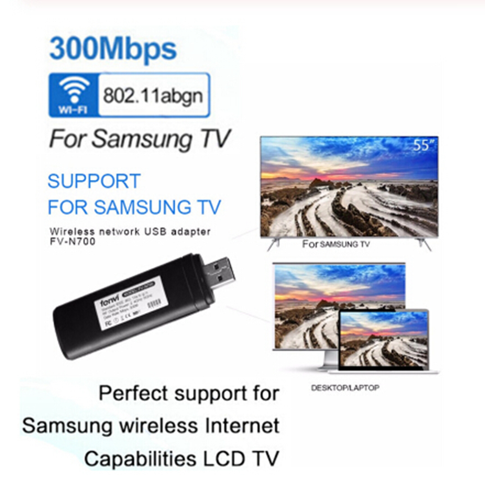 Wireless LAN Adapter WiFi Dongle Network TV Card Stick WIS12ABGNX WIS09ABGN USB TV Wireless Wi-Fi Adapters For Samsung Smart TV