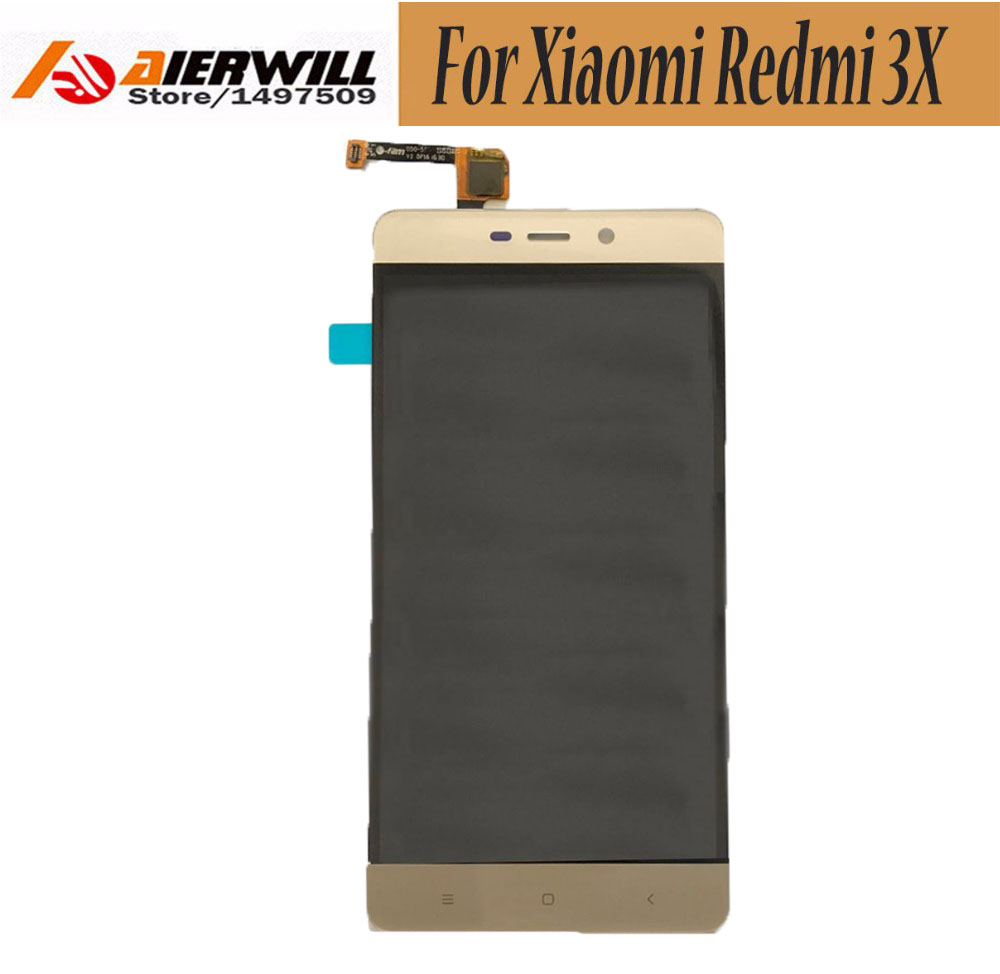 For Xiaomi Redmi 3X LCD Display Touch Screen Digitizer Assembly Replacement Repair Accessories For Xiaomi Redmi