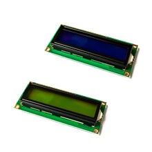 10 шт./лот LCD1602 1602 Модуль зеленый экран 16x2 символа ЖК-дисплей модуль. 1602 5 в зеленый экран и белый код для arduino