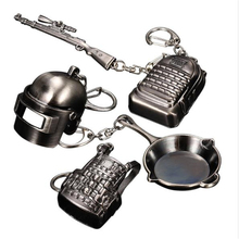 Game PUBGP Layerunknown Battlefield Role-Playing Clothing Special Forces Alloy Armor Model Key Chain Keychain PUBG special forces