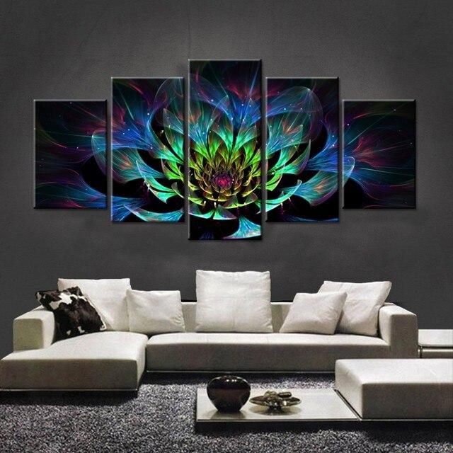 5PCS Full Diamond Embroidery Flower Diy Diamond Paintings Full ...