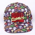 Gorra de béisbol Marvel Comics mujeres hombres Gorras Planas Snapbacks  camionero sombrero al aire libre hip 80c64d82a4d