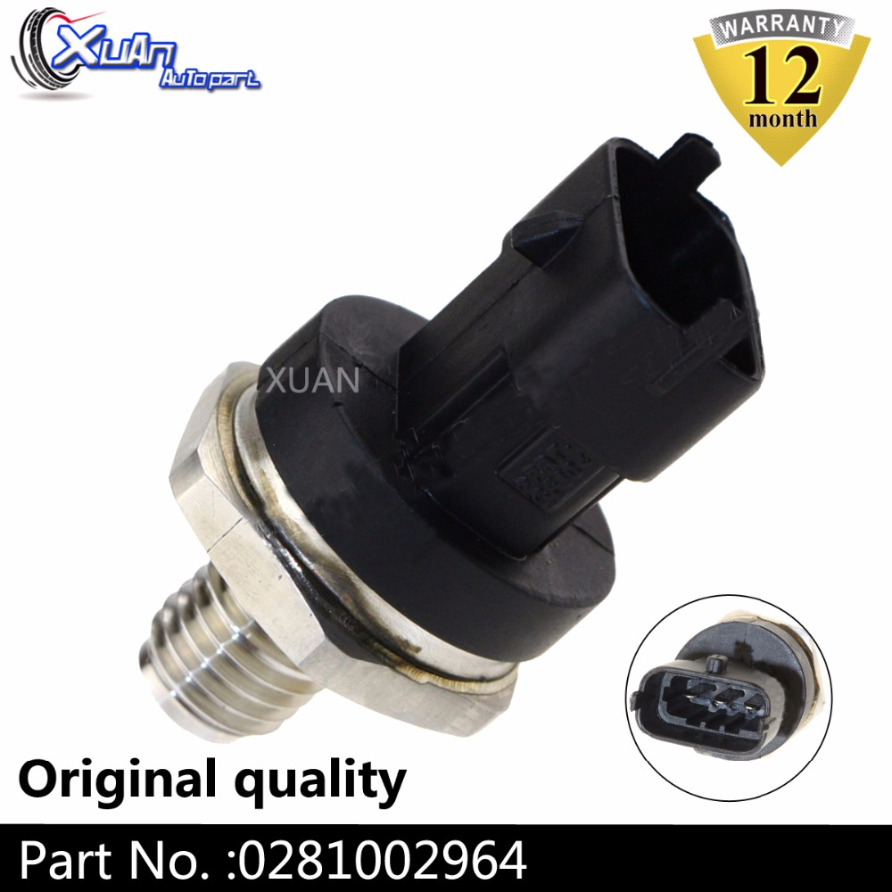 XUAN 0281002767 Diesel Common Rail Fuel High Pressure Sensor Regulator For OPEL VAUXHALL ASTRA ASTRAVAN IVECO DAILY EuroCargo image