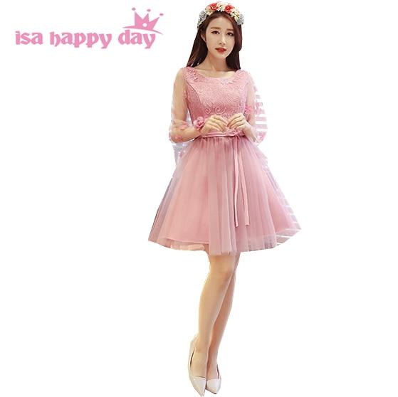 ddcfdfe97e4 Nouveauté 2019 dames princesse femmes court blush tulle puffy doux 16 robe  de soirée 8th grade robes de bal robe de bal H4147
