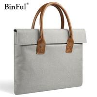 Women Portable Notebook Handbag Air Pro 11 12 13 14 15 15 6 Laptop Bag Sleeve