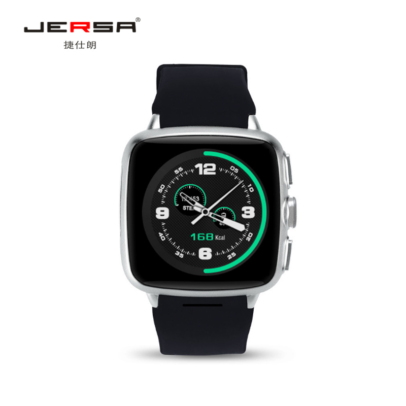 Smart Watch Sports Jersa Z01 Hd Touch Waterproof Dust GPS Positioning Android WIFI Heart Rate Camera 500W Dual-System Pedometer smart baby watch q60s детские часы с gps голубые