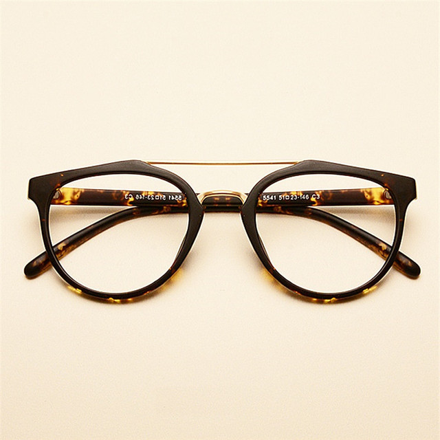 672c4f38f9c Vazrobe vintage men s glasses black myopia eyeglasses frame women s 0  degree clear lens for optical prescription nerd points