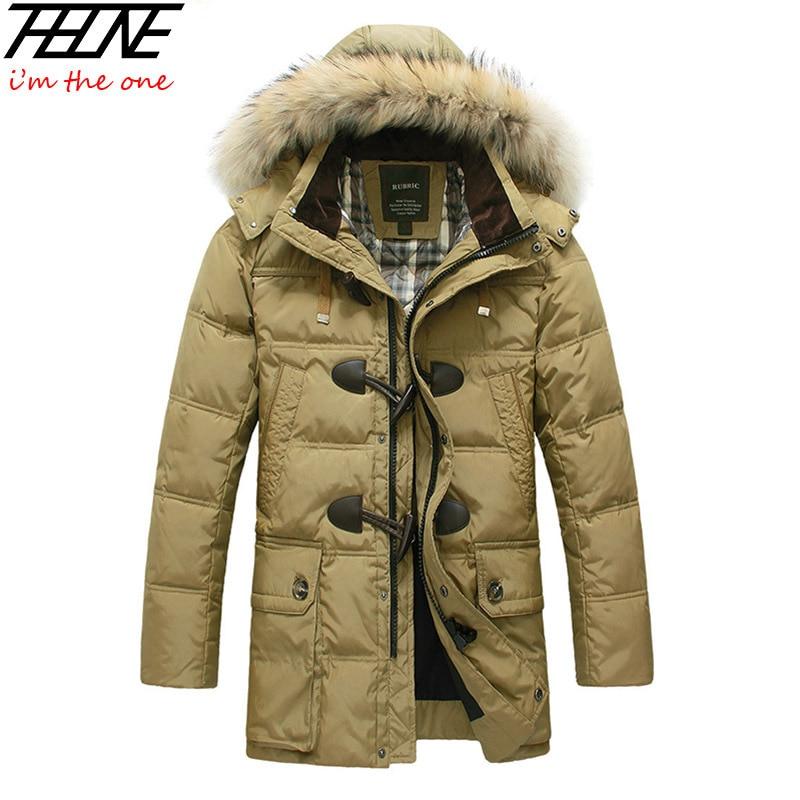 Men/'s Duck Down Jacket Ultra-Léger Hiver Chaud À Capuche Manteau Parka 13 Style Taille L1