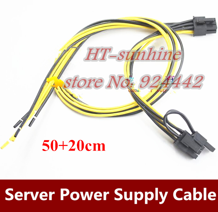 Free DHL/EMS  6Pin+8Pin Server Power Supply Cable For DELL2950 2850 1470W 6pin+8pin Semi Product Cable 6 p +8 p 18AWG free dhl ems 6pin 8pin server power supply cable for dell2950 2850 1470w 6pin 8pin semi product cable 6 p 8 p 18awg
