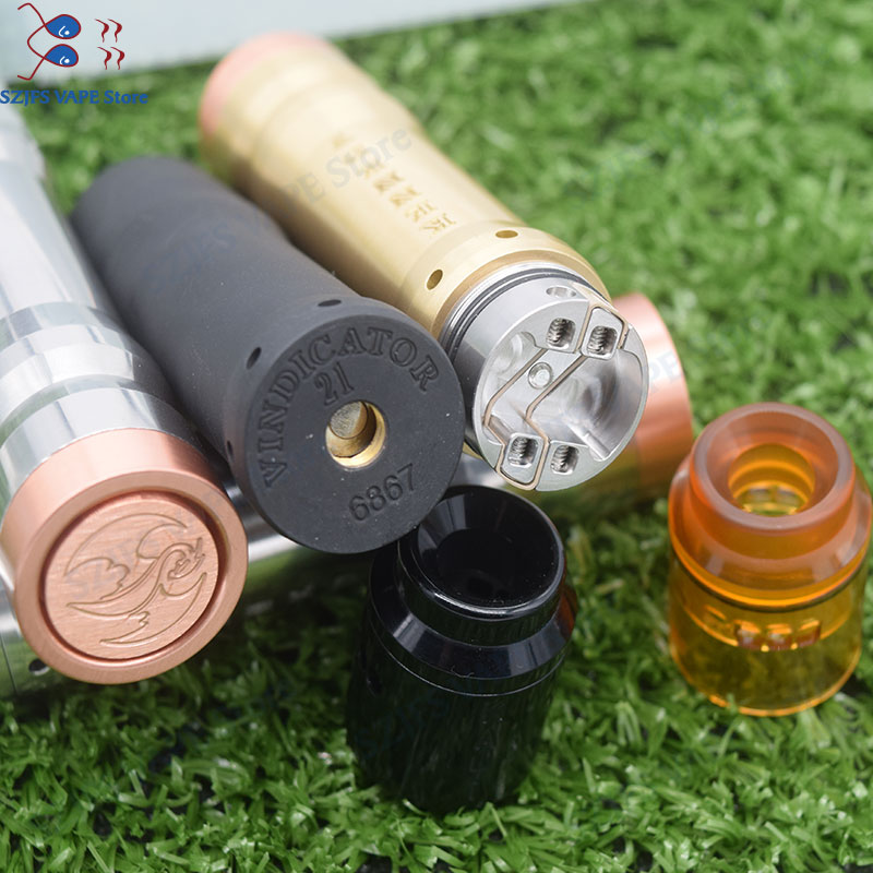 2019 Kennedy 25 Kit Vindicator Mech Mod with QP KALI RDA kit 18650 20700 21700 Battery 26mm diamater Mechanical Vaporizer mod in Electronic Cigarette Kits from Consumer Electronics