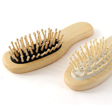 1PC Wood Comb Professional Healthy Paddle Cushion Hair Massage Brush Hairbrush Scalp Care bamboo comb