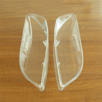1 Pair Left+right Car Headlight Lens Glass Lamp Cover Lampshade Bright Shell Auto Car Accessory Clear for Mazda 6 2003  2008|Car Light Accessories|   -