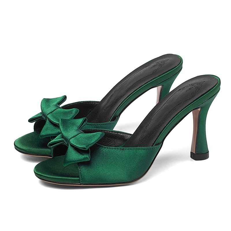 Marka yaz sandalet hakiki deri terlik garip tarzı yüksek topuklu rahat elbise ayakkabı kadın moda platform sandaletler katır