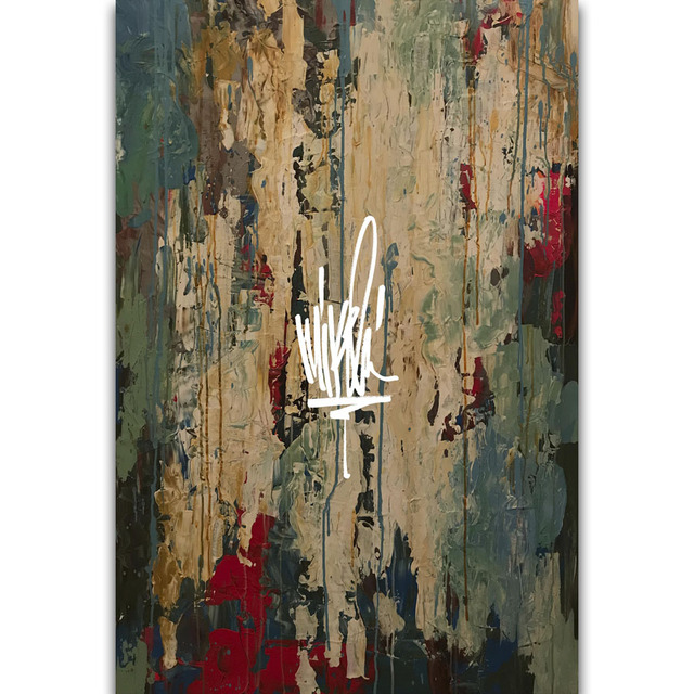 S2195 Album Cover Mike Shinoda Post Traumatic Hip Hop Rap Music Wall ...