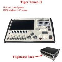 Новый Тигр Touch II контроллер DJ оборудование DMX 512 консоли сценического освещения для Светодиодный пар перемещения головы прожекторы диско DJ