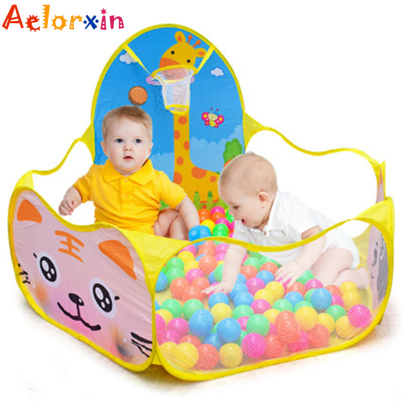 Portable Foldable  Baby Playpen Children Outdoor Indoor Ball Pool Play Kids Safe Foldable Playpens Game Pool Of Balls For Kids