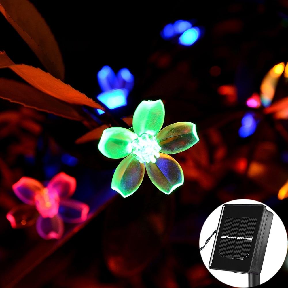 Күн сымының шамдары, 7M 12M 60LED 100LED LED - Мерекелік жарықтандыру - фото 6