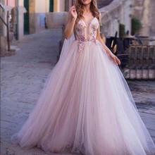 Румяна vestido Розовый платье