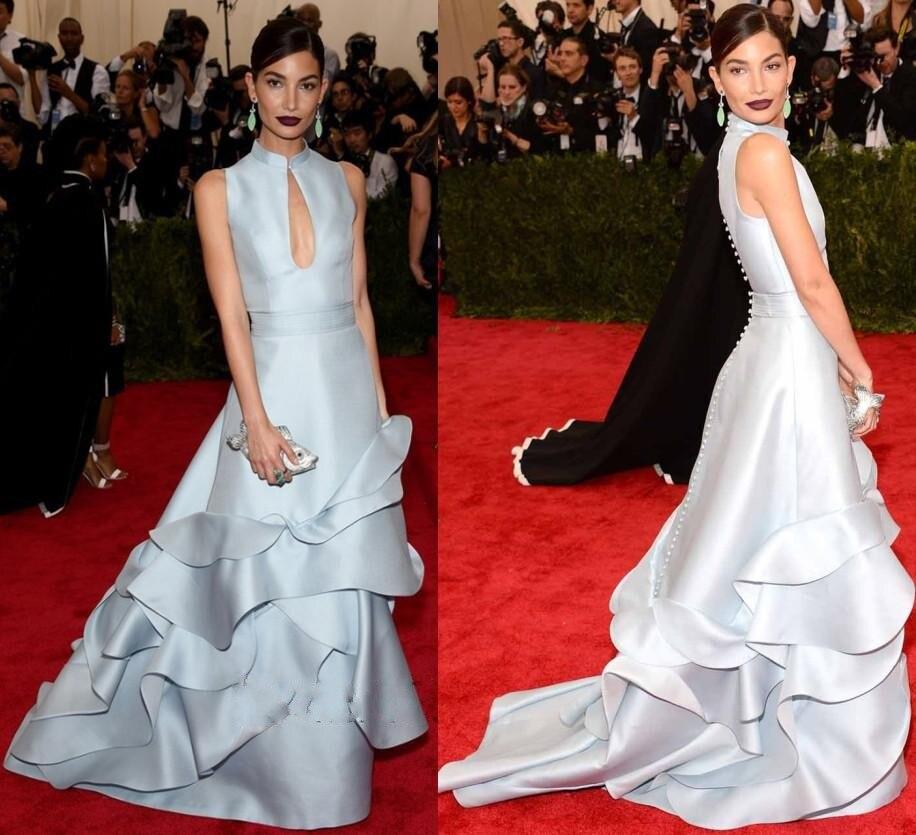 Halter Neck Evening Dresses Celebs