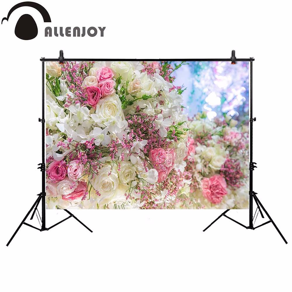 Bokeh Flowers Wedding: Aliexpress.com : Buy Allenjoy Wedding Flower Photography