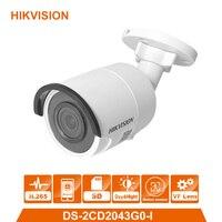 Hik оригинальный DS 2CD2043G0 I 4MP сети пуля Камера безопасности Системы обновления DS 2CD2042WD I открытый монитор