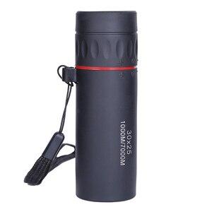 Image 2 - New 30x25 HD Optical Monocular Mini Portable Zooming Focus Telescope Binoculars Outdoor Travel Camping Hiking Hunting Tools