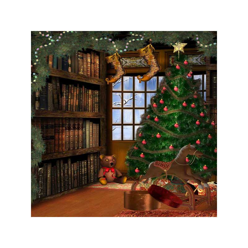 10x10ft free shipping Christmas backdrops Customized computer Printed vinyl photography background  for photo studio  st-280 10x10ft free shipping christmas backdrops customized computer printed vinyl photography background for photo studio st 241