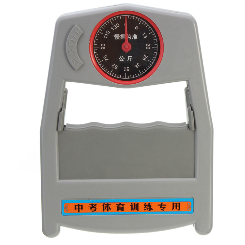 0-130kg Hand Bewertung Leistungsprüfstand Greifkraft Meter Kraftmessung Werkzeug Qualität Neue Ankunft