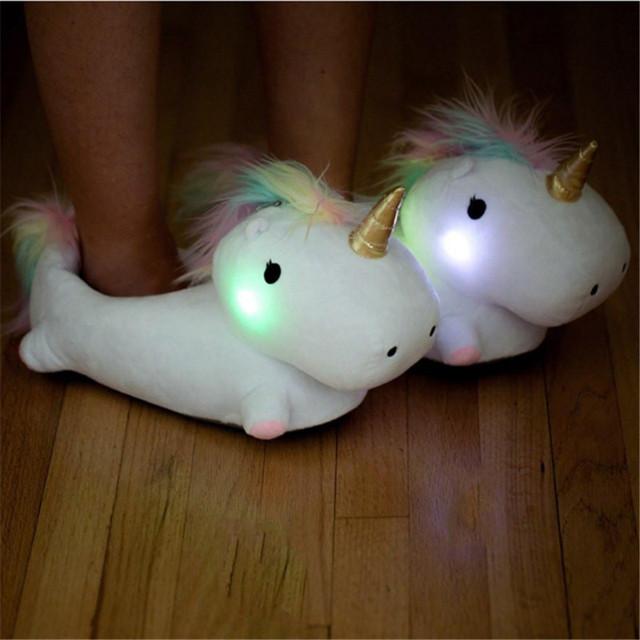 Chausson Licorne lumineuse