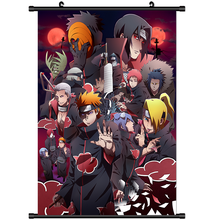 Anime Poster Naruto Akatsuki Home Decor Muur Scroll Poster Cosplay 60*90 cm(China)