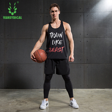 Basketball gym suit men short sleeve sportswear tights gym vest leggings quick drying sport fitness workout clothes running suit