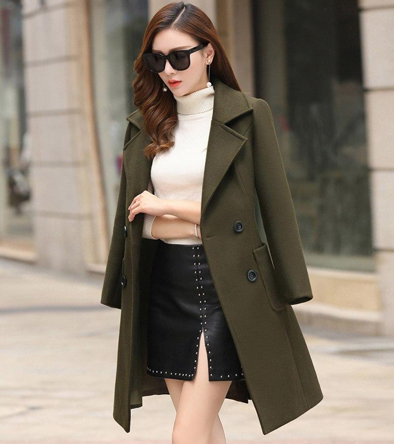 معطف الشتاء عارضة النساء 19