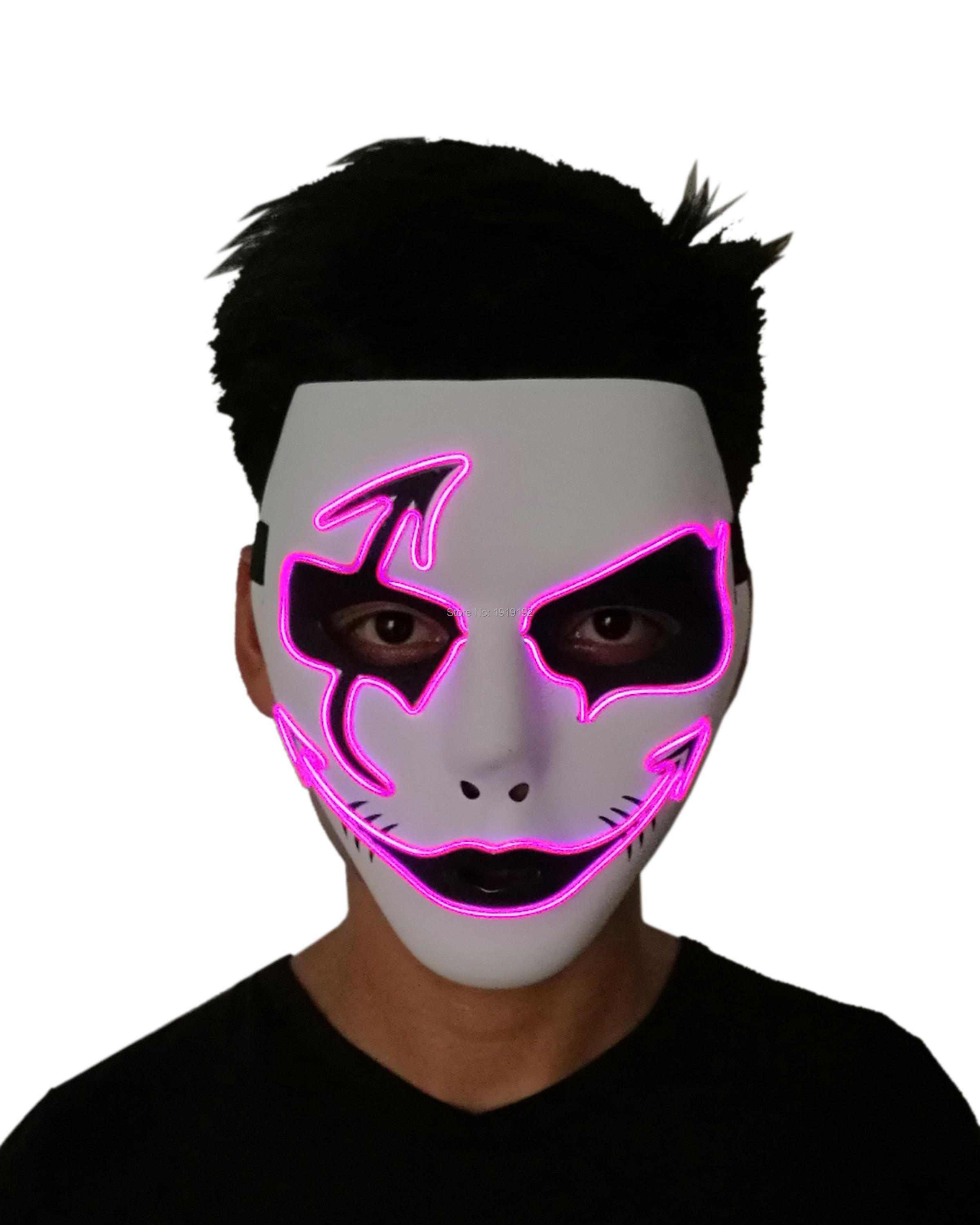 Free shipping 10 colors select easter gift led mask prom plastics free shipping 10 colors select easter gift led mask prom plastics mask bar fluorescent mask for halloween party decoration in party masks from home garden negle Gallery