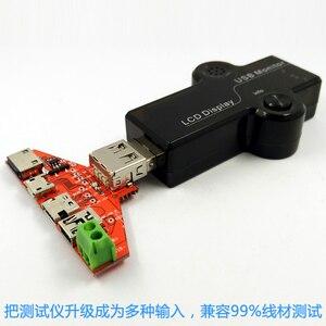 Image 5 - Destek tipi c MiNi mikro USB iPhone5s/6 s Yıldırım protokolü Tek tel kelepçe USB veri transferi testi kurulu USB adaptör plakası