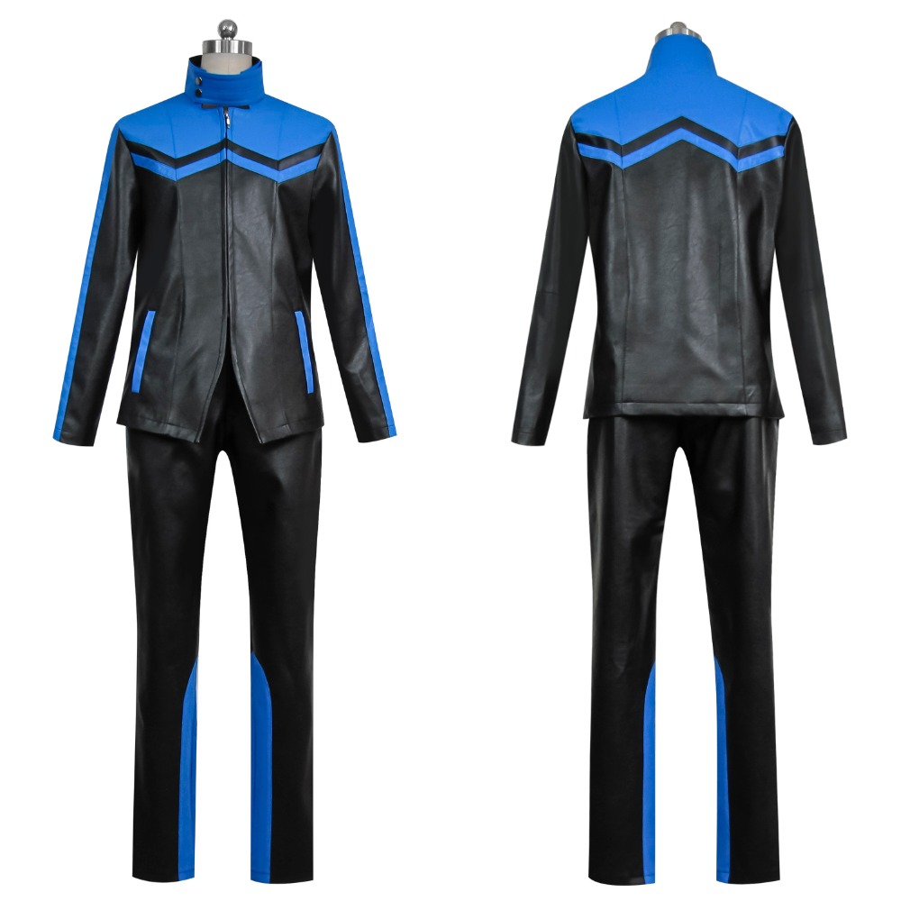 Masked Rider Kamen Rider Makoto Fukami Cosplay Costumes Customized high-end Cosplay for men and Ms Quality PU leather garment