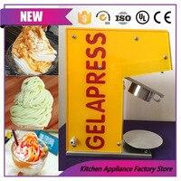 גלידת noddle עושה מכונת/5 תבניות gelato איטלקי יצרנית אטריות מכונת גלידה רכה-במכונות גלידה מתוך מכשירי חשמל ביתיים באתר