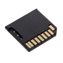 Buy Micro SD TF to SD Card Kit Mini Adaptor Low Profile for Macbook Air / Pro / Retina Black directly from merchant!