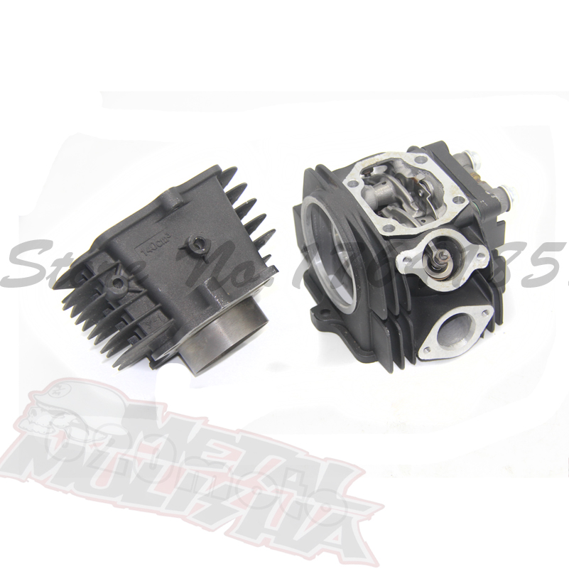 YX140 140CC 56MM CYLINDER BODY HEAD COVER KIT FOR YINGXIANG YX140 DIRT PIT BIUKE MINI BIKE 90cc cylinder body kit