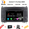 Two Din 7 Inch Android Car DVD Player For Mercedes Benz Sprinter W209 W169Viano Vito B200
