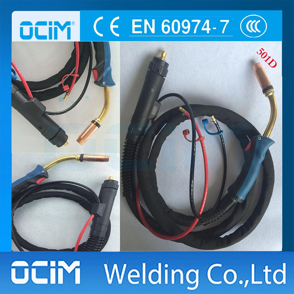 MB 501D 5M WATER COOLED MIG WELDING TORCH