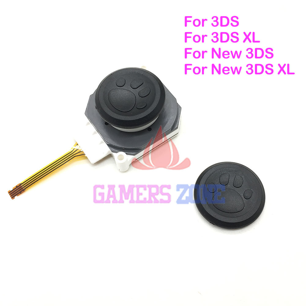 10PCS For New 3DSLL Cat Paw Controller Analog Joysticks Grips For ...