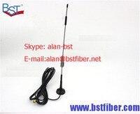 Wifi الهوائي 433 ميجا هرتز هوائي مكاسب عالية 12db هوائي مصاصة صغيرة نقية النحاس قضيب ، 3 متر خط