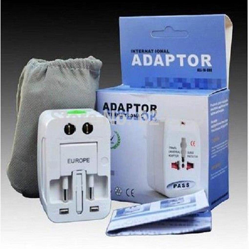 Livraison gratuite adaptateur universel prise prise convertisseur tout en un voyage adaptateur électrique US UK AU EU prise