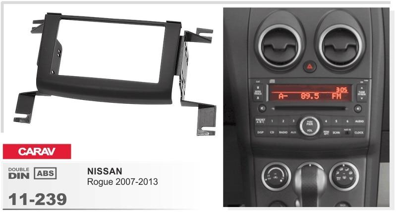 Cadre + Voiture DVD radio Android 6.0.1 Autoradio GPS Lecteur Autoradio pour nissan rogue 2007-2013 3g Bluetooth STÉRÉO magnétophone