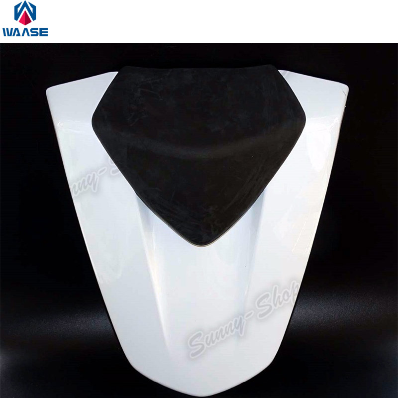 Motorcycle Parts Rear Seat Cover Cushions Tail Section Fairing Cowl White For 2013 2014 2015 Honda CBR500R CBR 500R