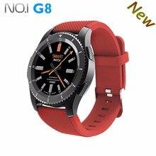NOVA No. 1 G8 Smartwatchs Bluetooth 4.0 SIM Card Chamada Mensagem lembrete relógio Monitor de Freqüência Cardíaca relógios Inteligentes Para IOS Android telefone