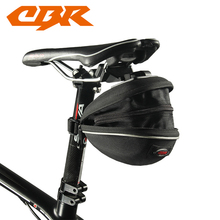 CBR Bicycle Rear Bag 5 Color Waterproof Mountain Road Bicycle Tail Bag Saddle Bag Bike Pouch